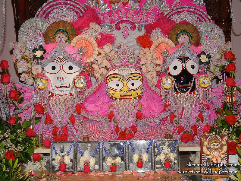 Jagannath Baladeva Subhadra Wallpaper (006)