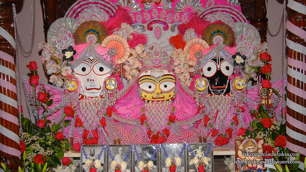 Jagannath Baladeva Subhadra Wallpaper (006) Size 1280x720 Download