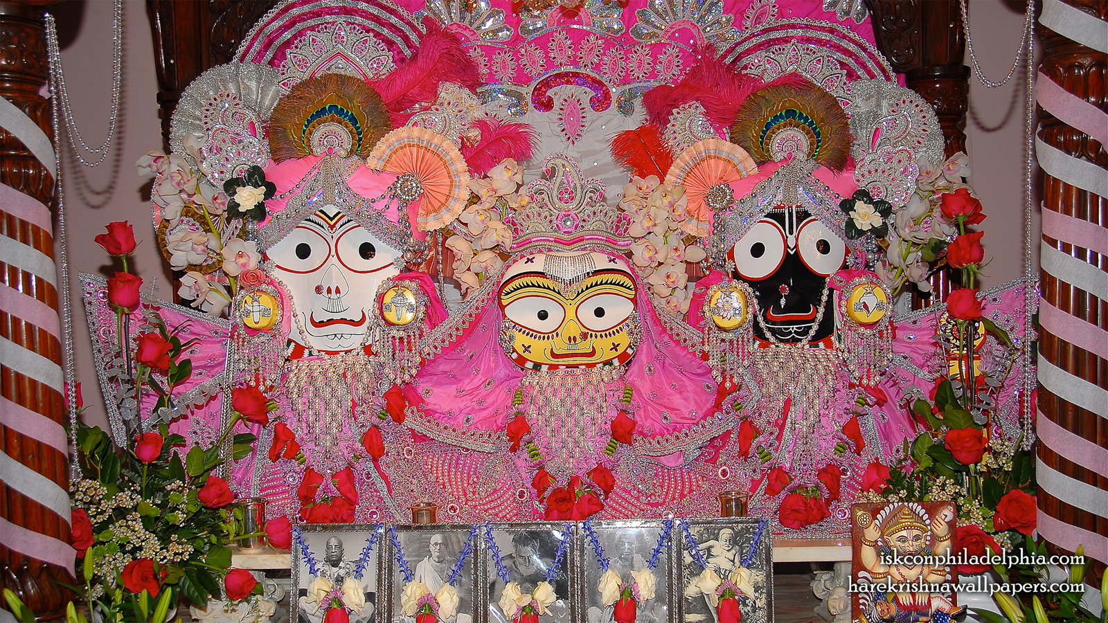 Jagannath Baladeva Subhadra Wallpaper (006) Size 1600x900 Download
