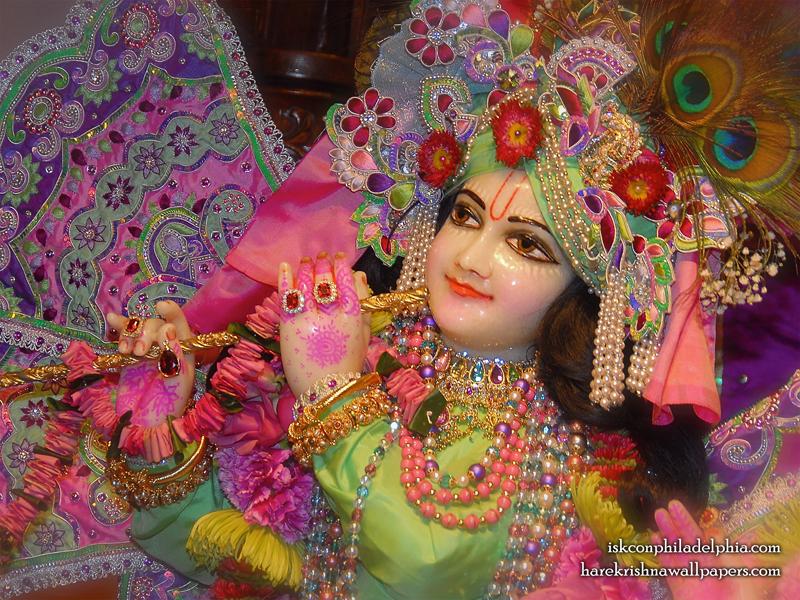 Sri Krishna Close up Wallpaper (006) Size 800x600 Download
