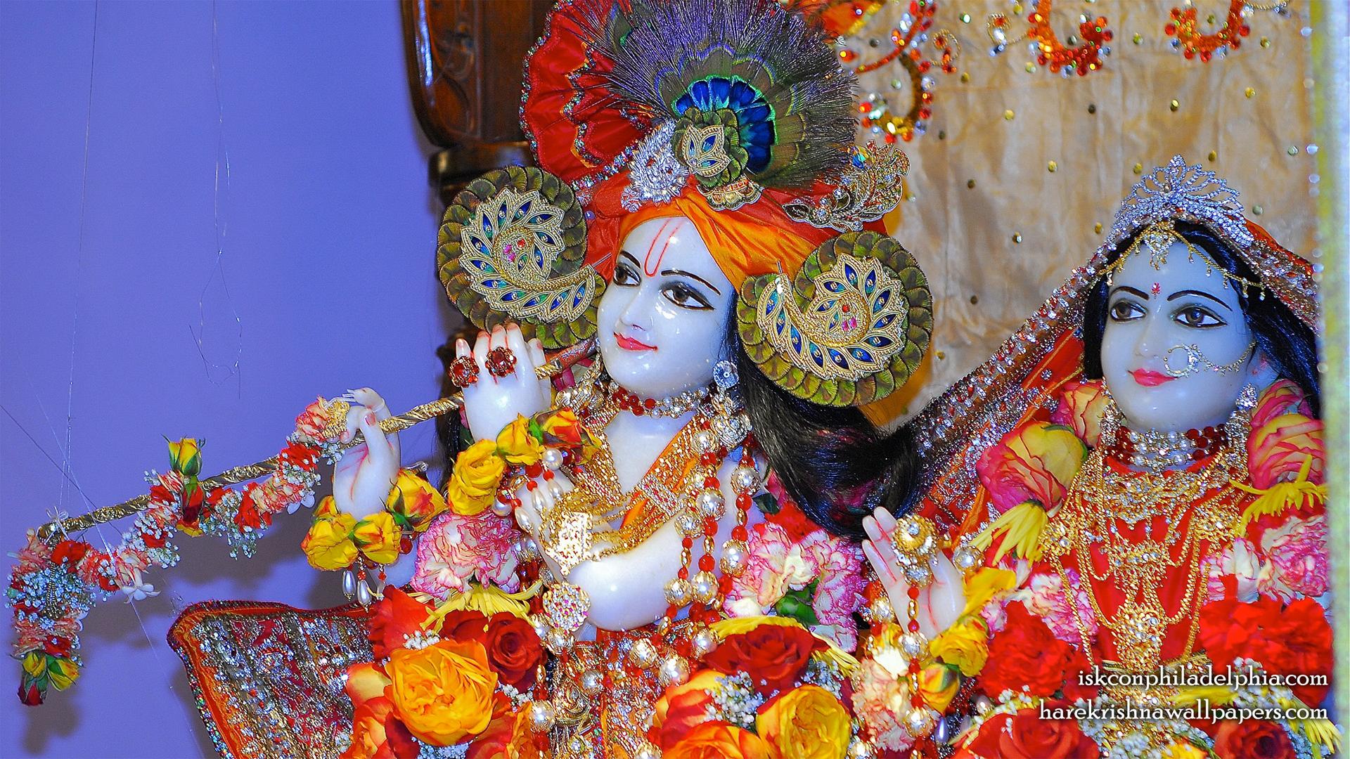 Sri Sri Radha Krishna Close up Wallpaper (006) Size 1920x1080 Download