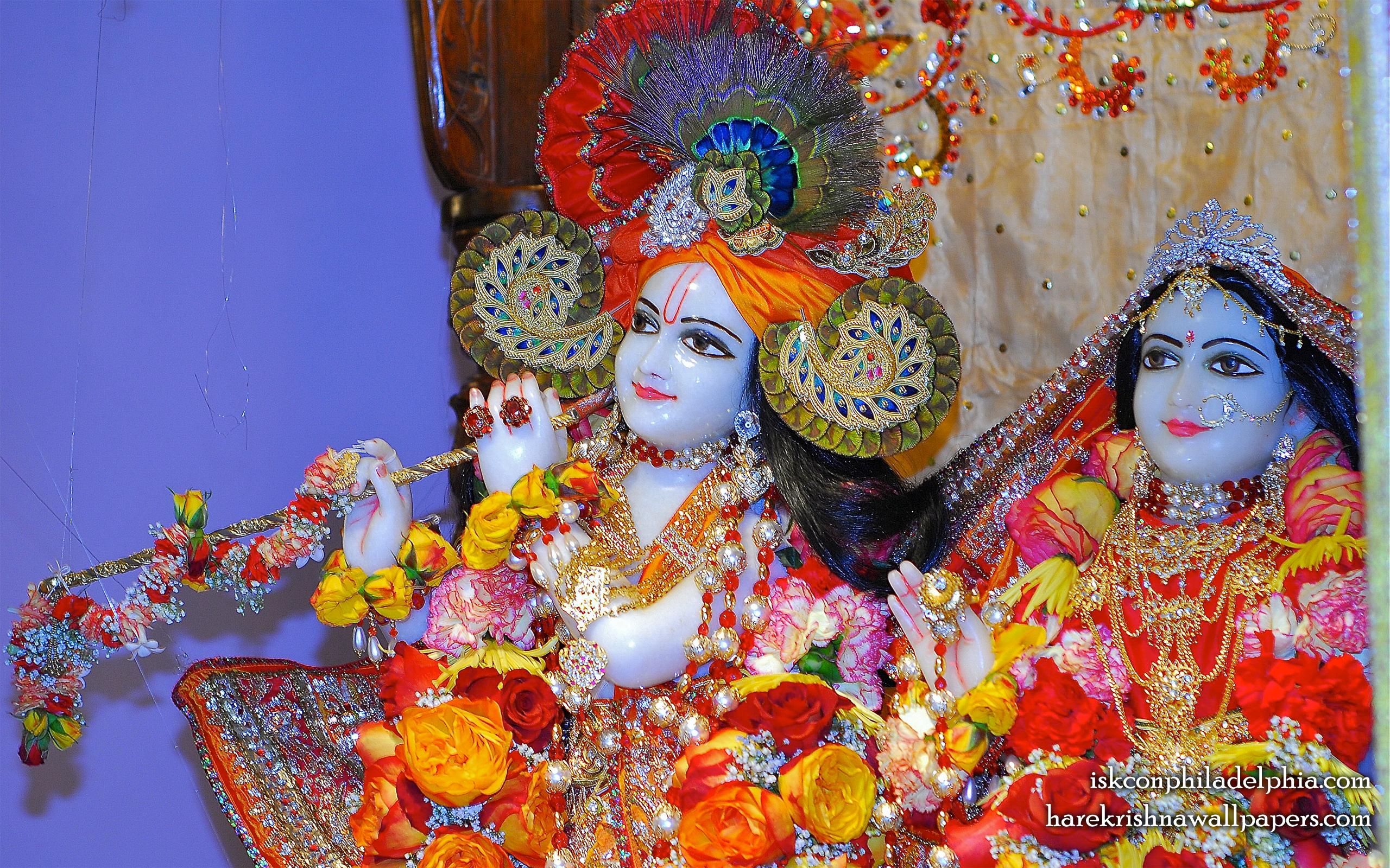 Sri Sri Radha Krishna Close up Wallpaper (006) Size 2560x1600 Download