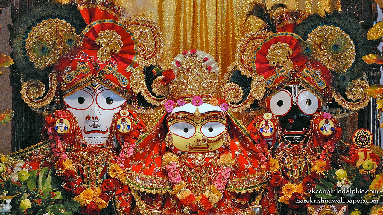 Jagannath Baladeva Subhadra Wallpaper (007) Size 1280x720 Download