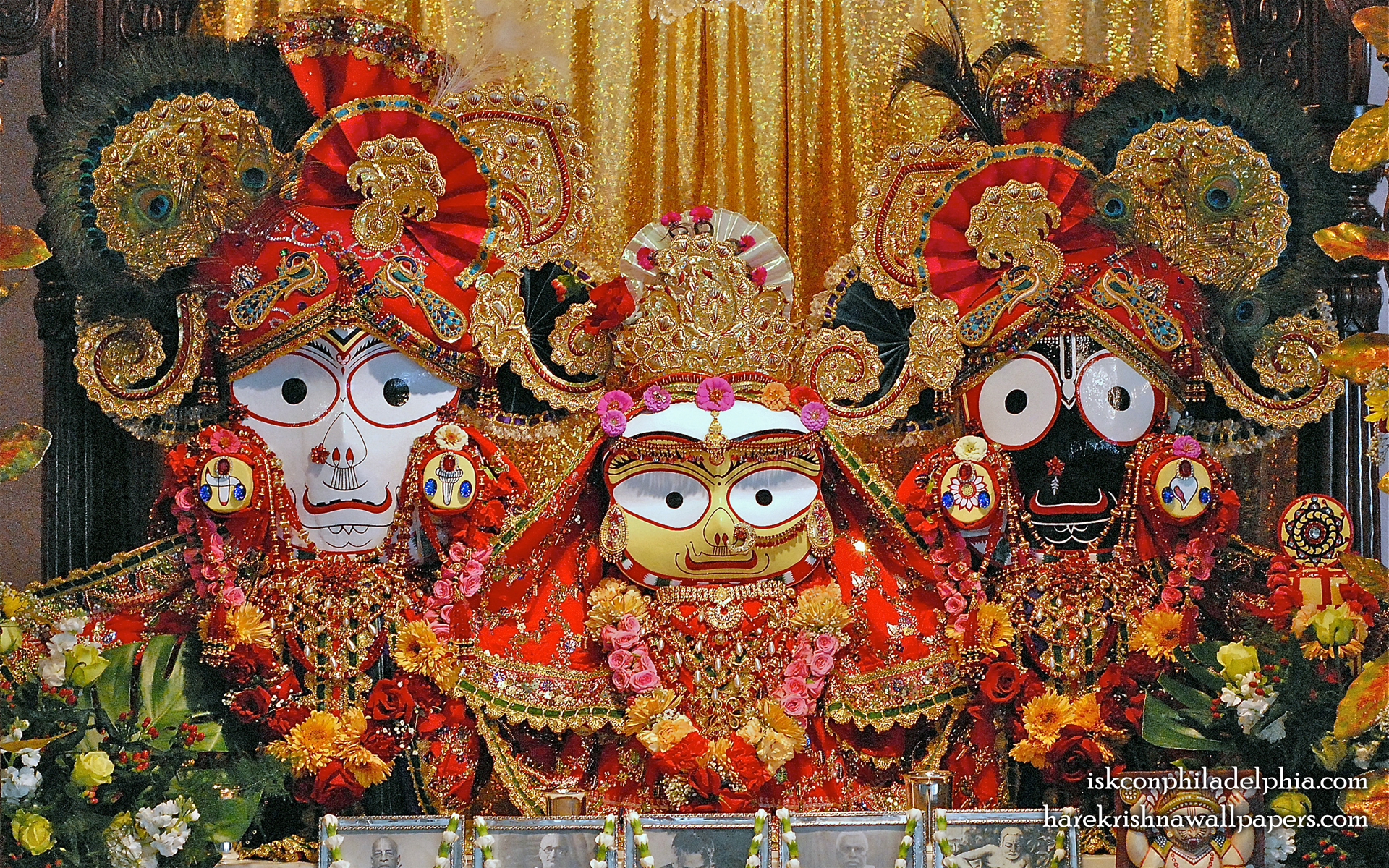 Jagannath Baladeva Subhadra Wallpaper (007) Size 1920x1200 Download