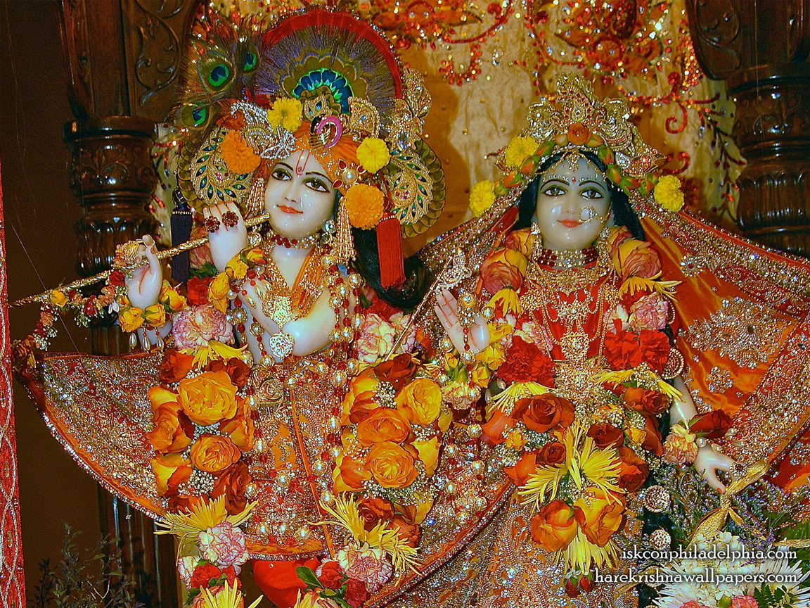 Sri Sri Radha Krishna Close up Wallpaper (007) Size 1152x864 Download