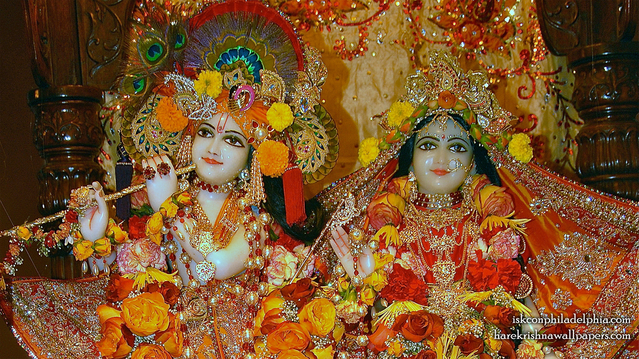 Sri Sri Radha Krishna Close up Wallpaper (007) Size 1280x720 Download