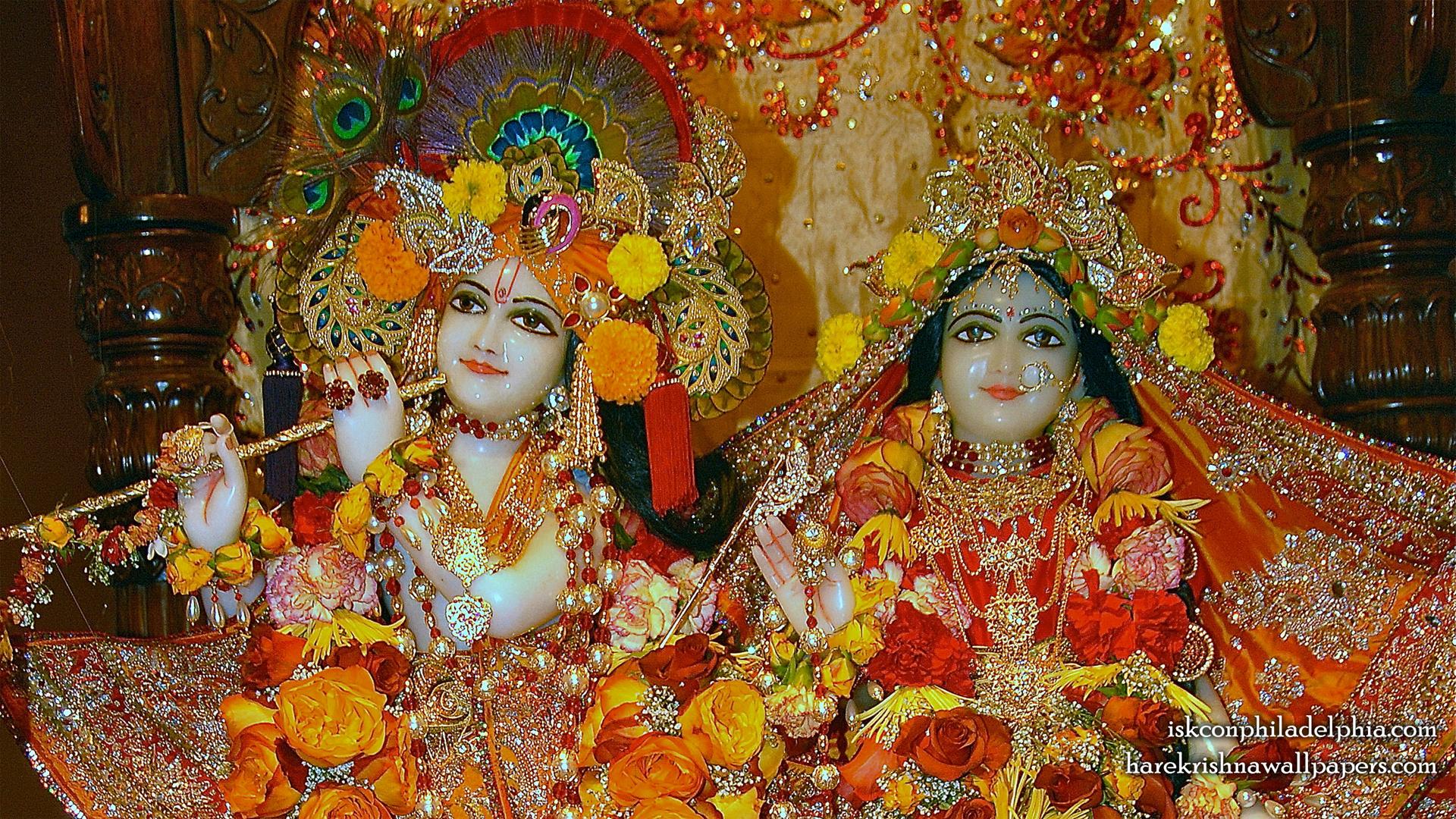 Sri Sri Radha Krishna Close up Wallpaper (007) Size 1920x1080 Download