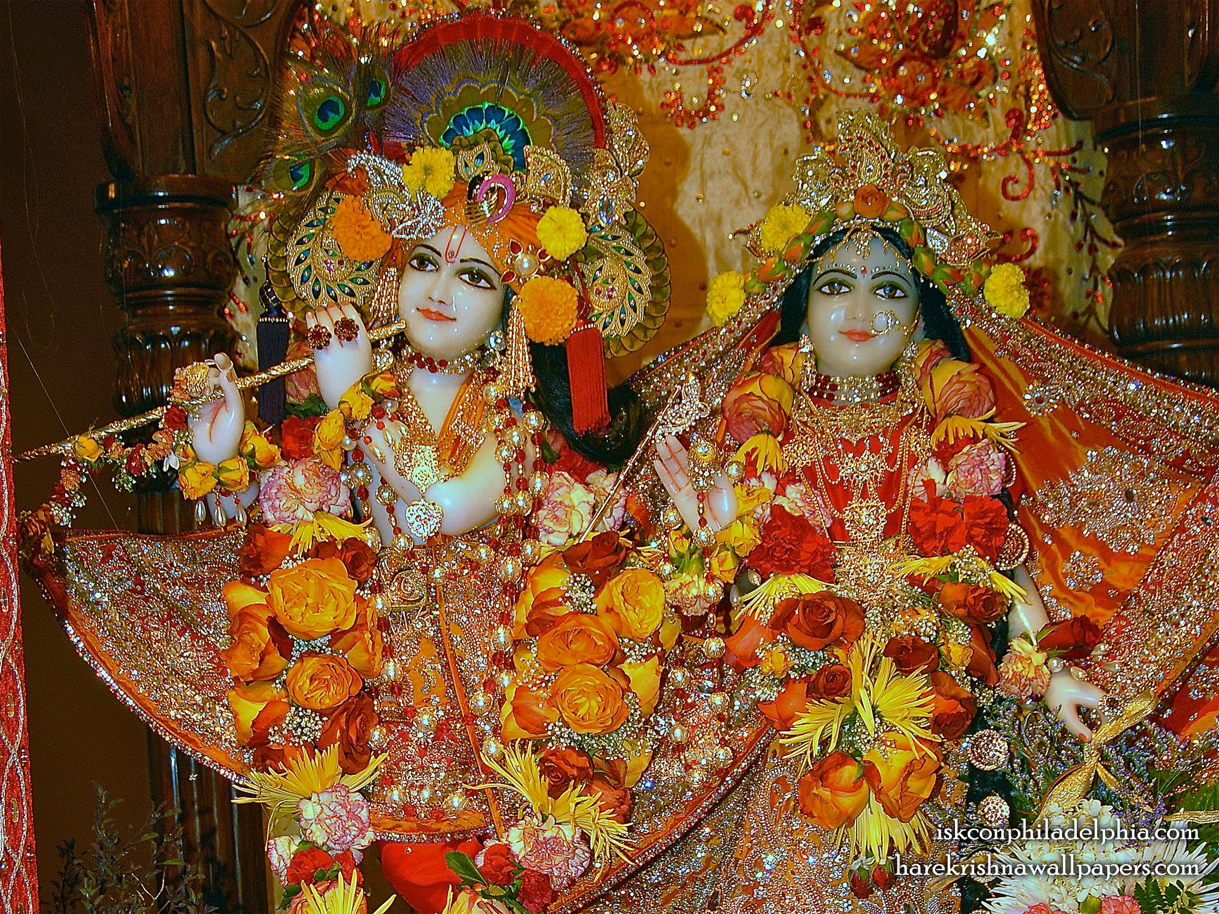 Sri Sri Radha Krishna Close up Wallpaper (007) Size 2400x1800 Download