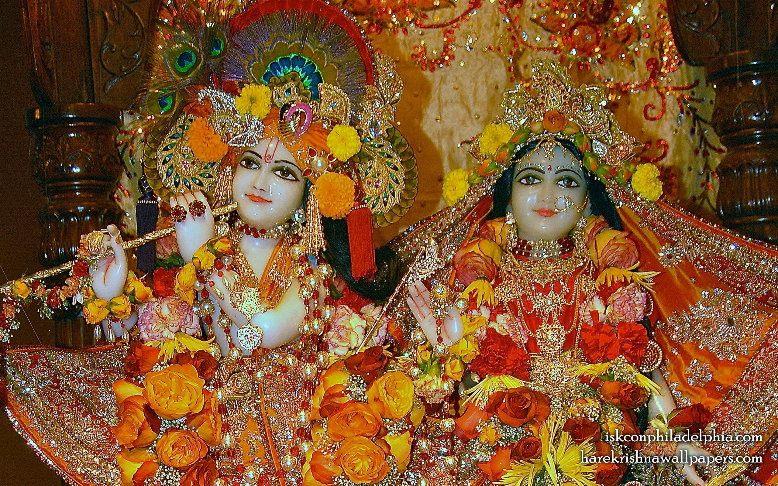 Sri Sri Radha Krishna Close up Wallpaper (007) Size 2560x1600 Download