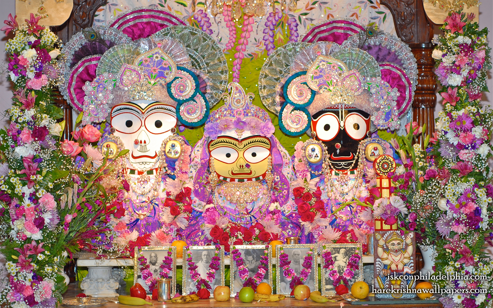 Jagannath Baladeva Subhadra Wallpaper (008) Size 1680x1050 Download