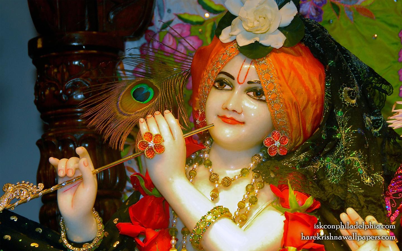 Sri Krishna Close up Wallpaper (008) Size 1440x900 Download