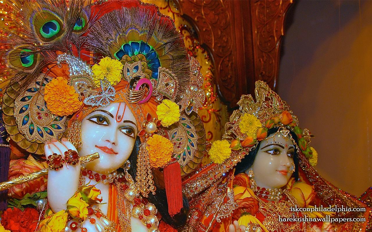 Sri Sri Radha Krishna Close up Wallpaper (008) Size 1280x800 Download