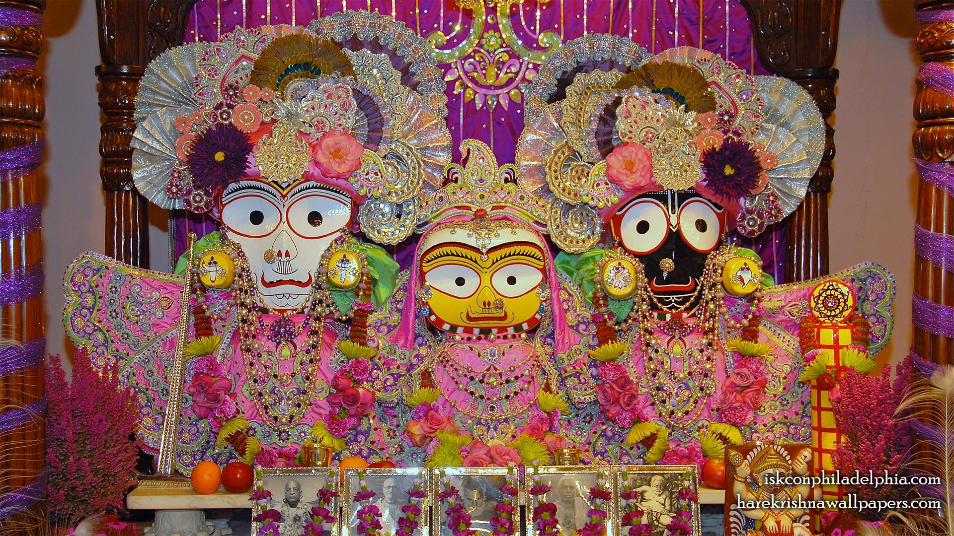 Jagannath Baladeva Subhadra Wallpaper (009) Size 1920x1080 Download