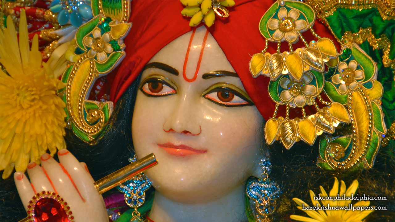 Sri Krishna Close up Wallpaper (009) Size 1280x720 Download