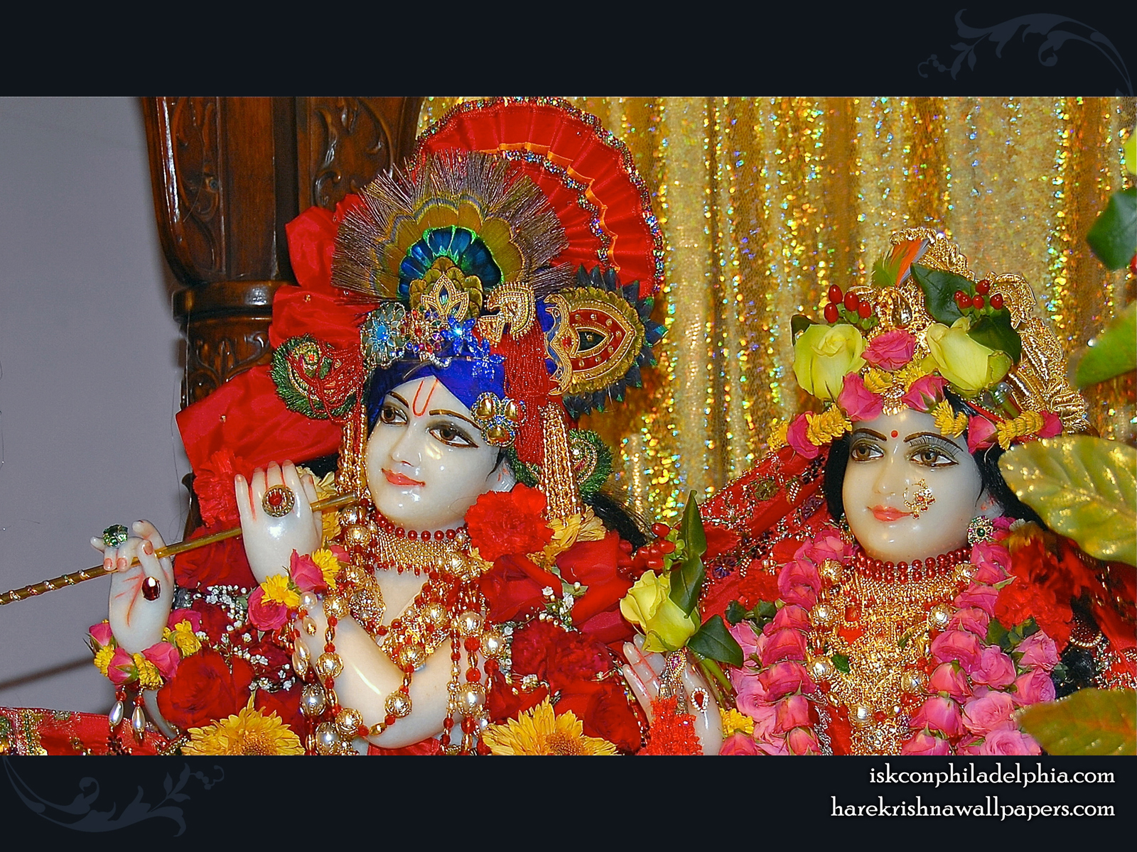 Sri Sri Radha Krishna Close up Wallpaper (009) Size1600x1200 Download