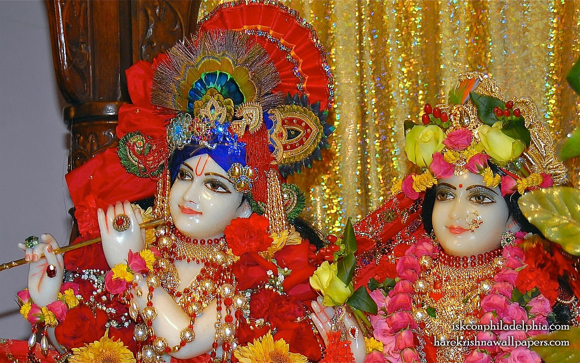 Sri Sri Radha Krishna Close up Wallpaper (009) Size 1920x1200 Download