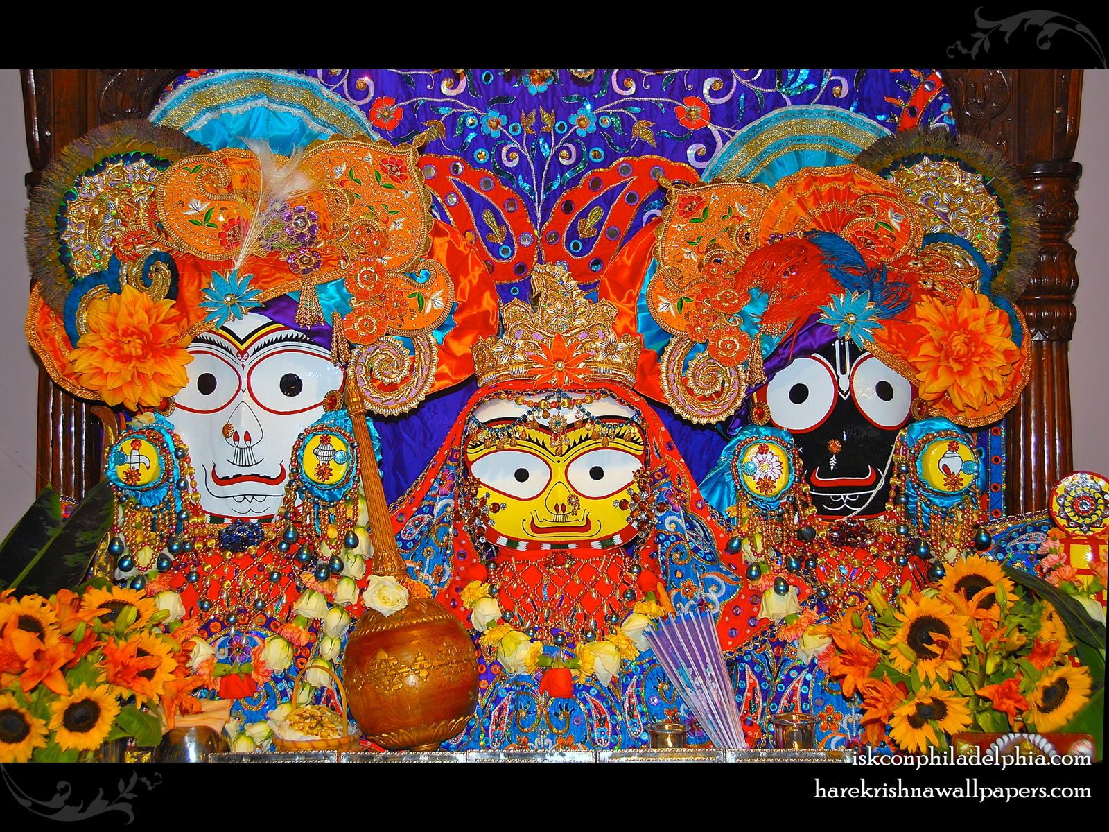 Jagannath Baladeva Subhadra Wallpaper (010) Size1600x1200 Download