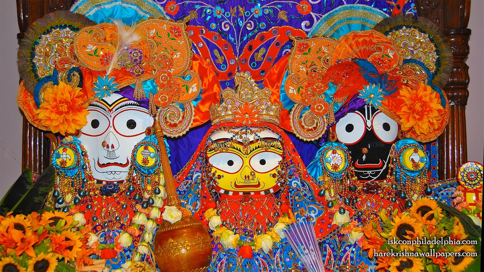 Jagannath Baladeva Subhadra Wallpaper (010) Size 1600x900 Download