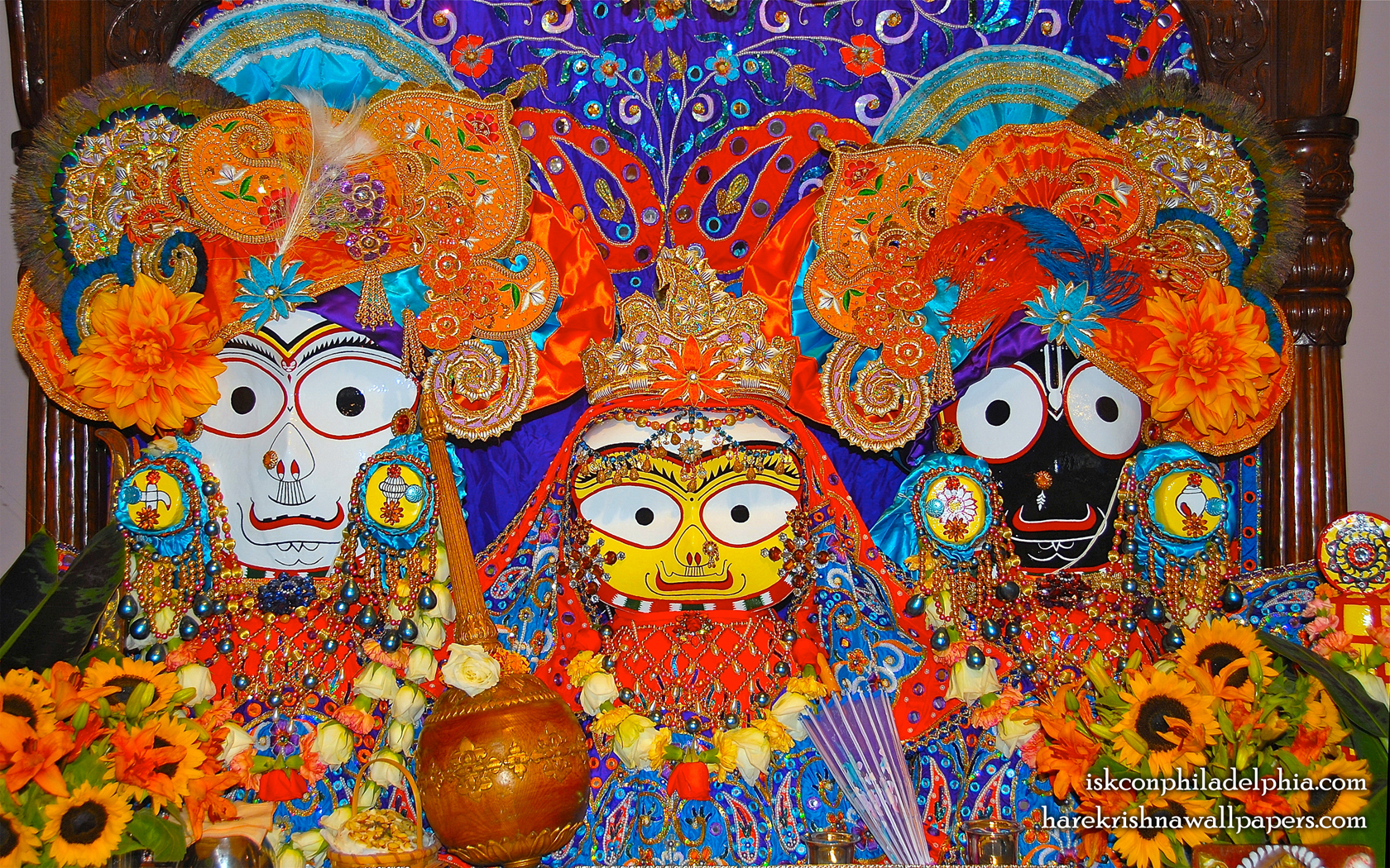 Jagannath Baladeva Subhadra Wallpaper (010) Size 1680x1050 Download