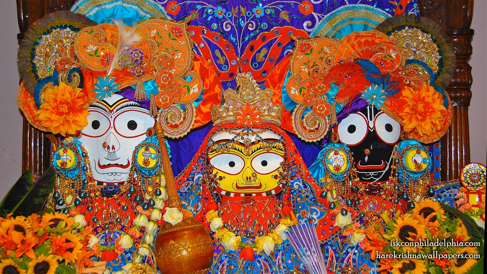Jagannath Baladeva Subhadra Wallpaper (010) Size 1920x1080 Download