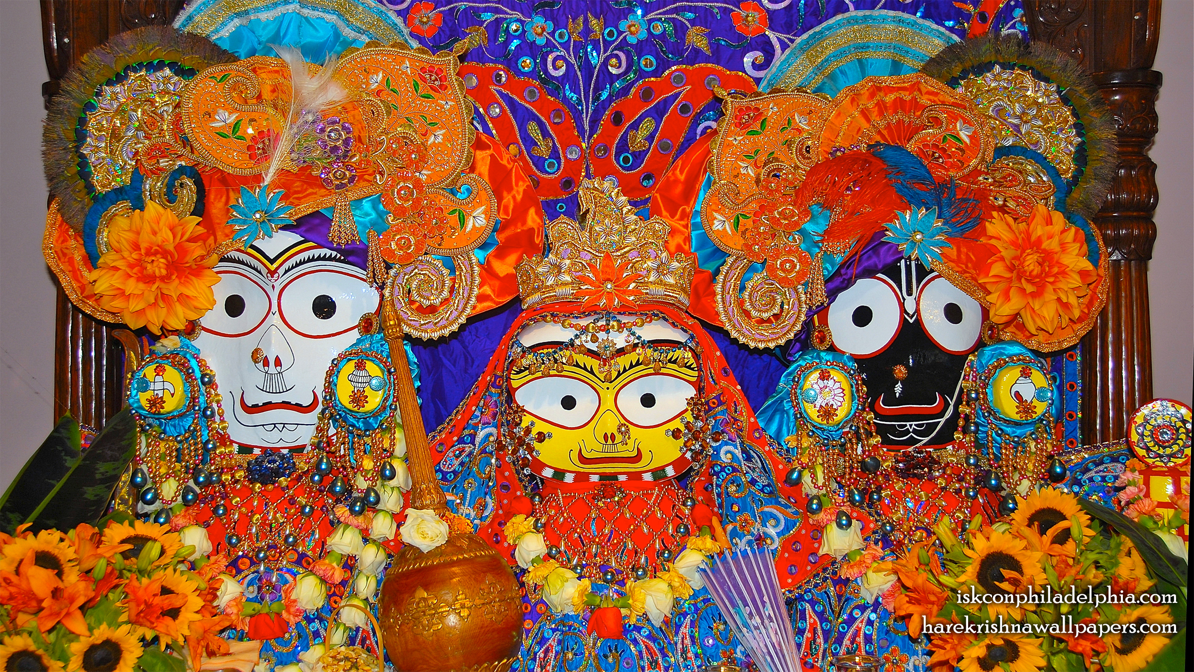 Jagannath Baladeva Subhadra Wallpaper (010) Size 2400x1350 Download