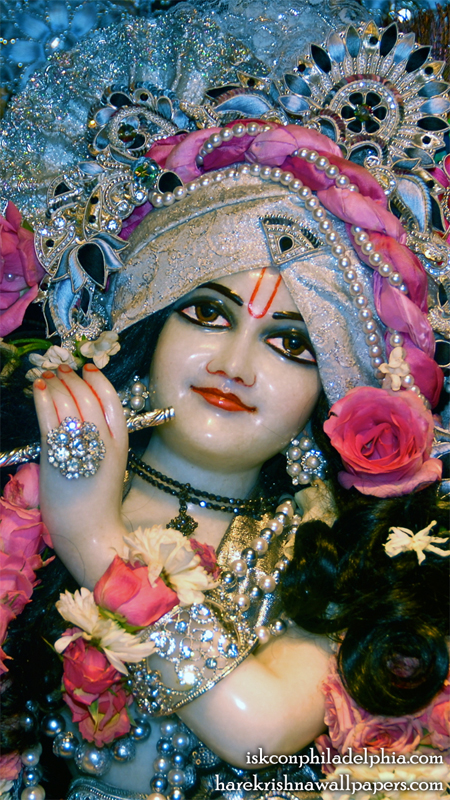 Sri Krishna Close up Wallpaper (010) Size 450x800 Download