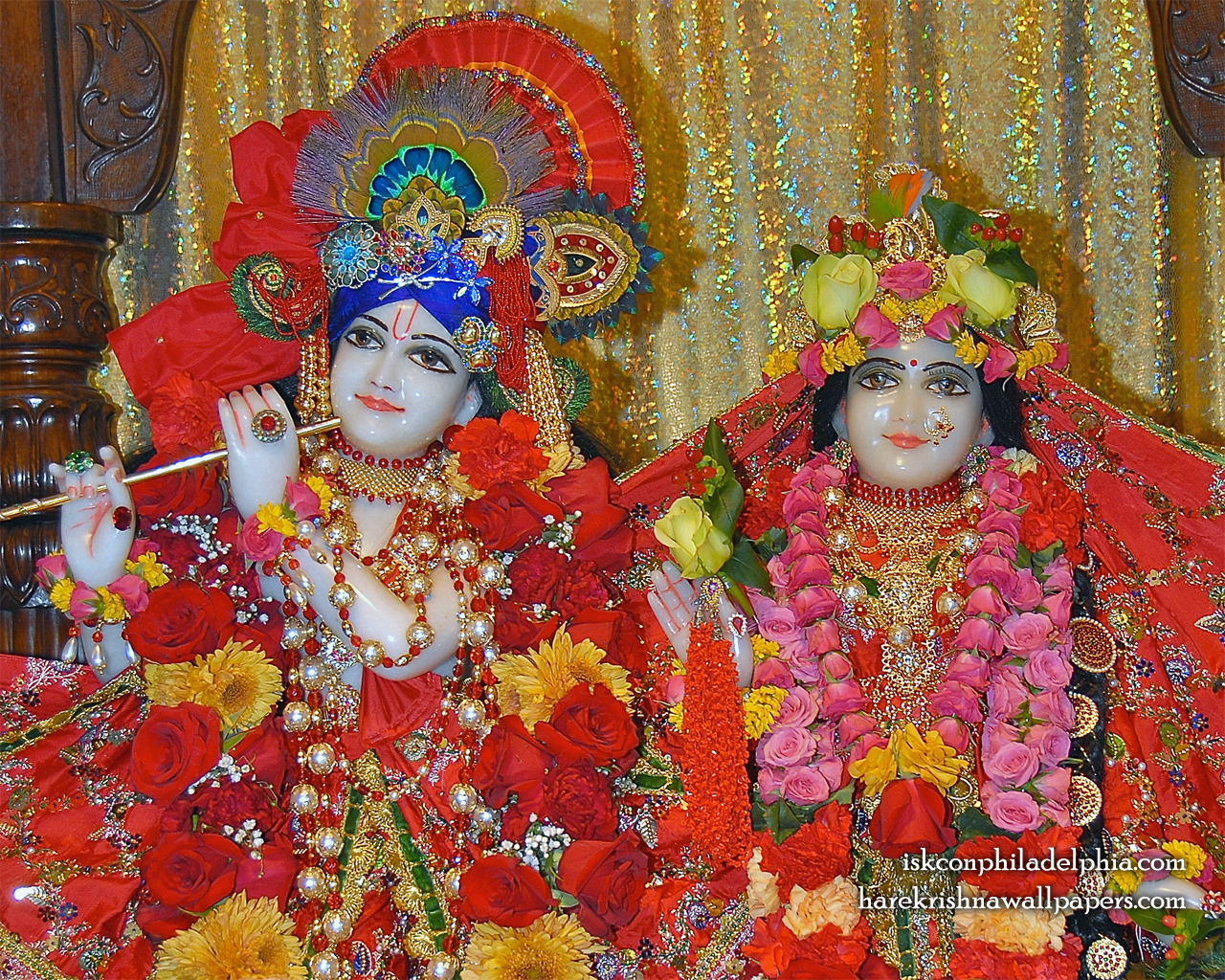 Sri Sri Radha Krishna Close up Wallpaper (010) Size 1280x1024 Download