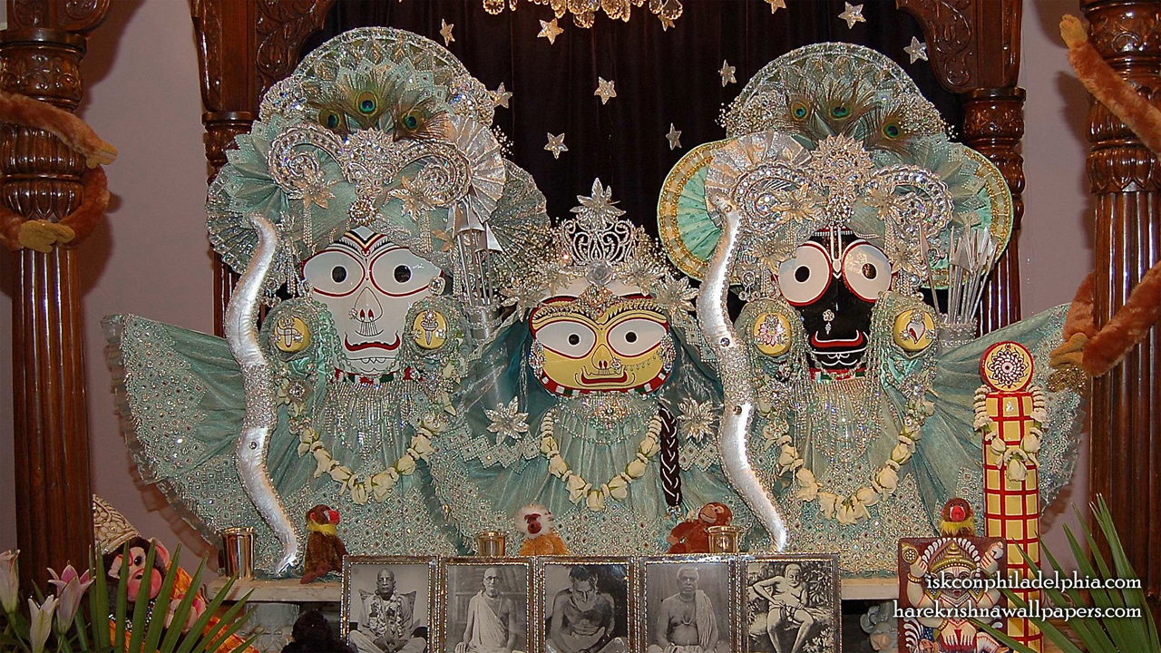 Jagannath Baladeva Subhadra Wallpaper (011) Size 1280x720 Download