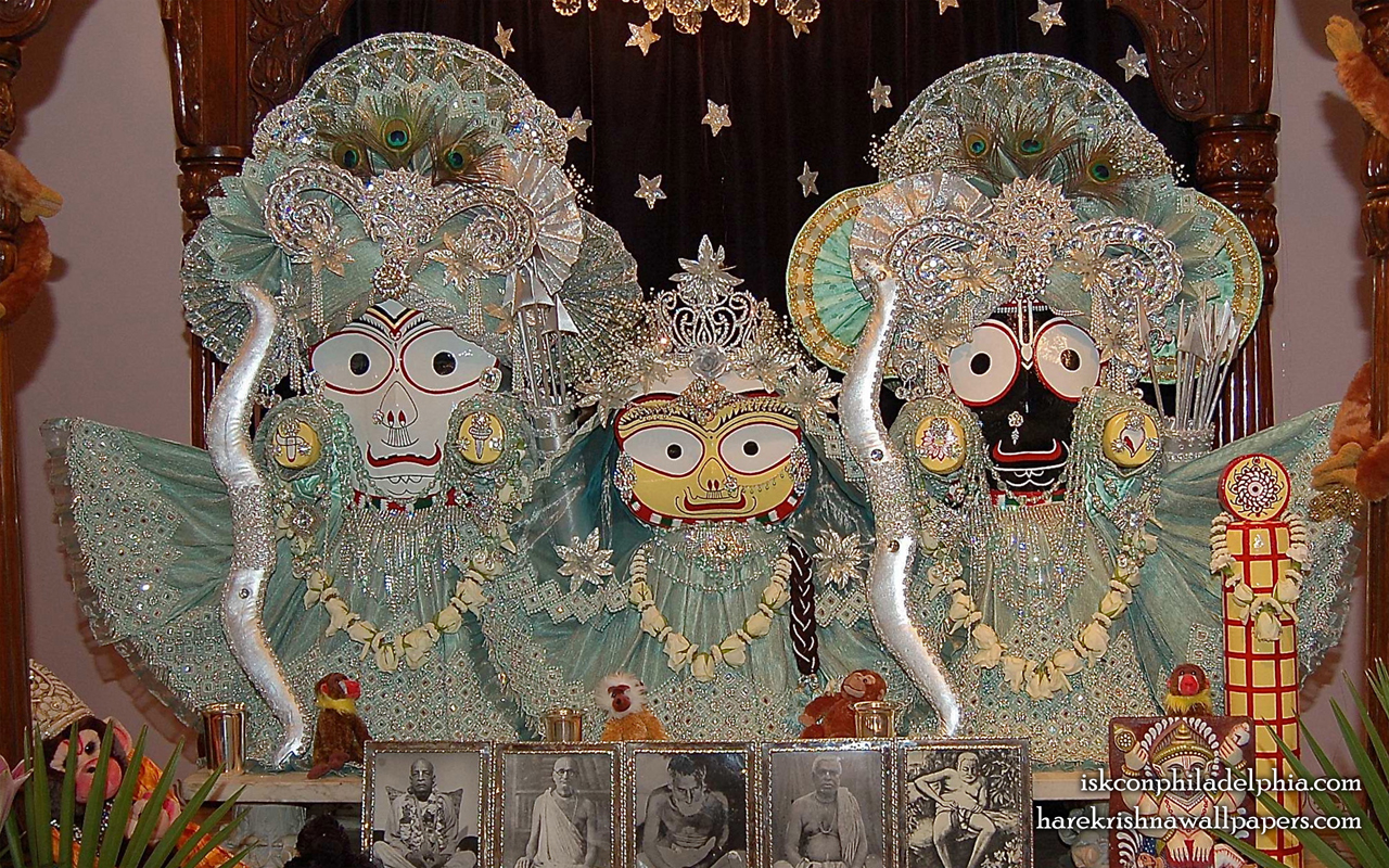Jagannath Baladeva Subhadra Wallpaper (011) Size 1280x800 Download