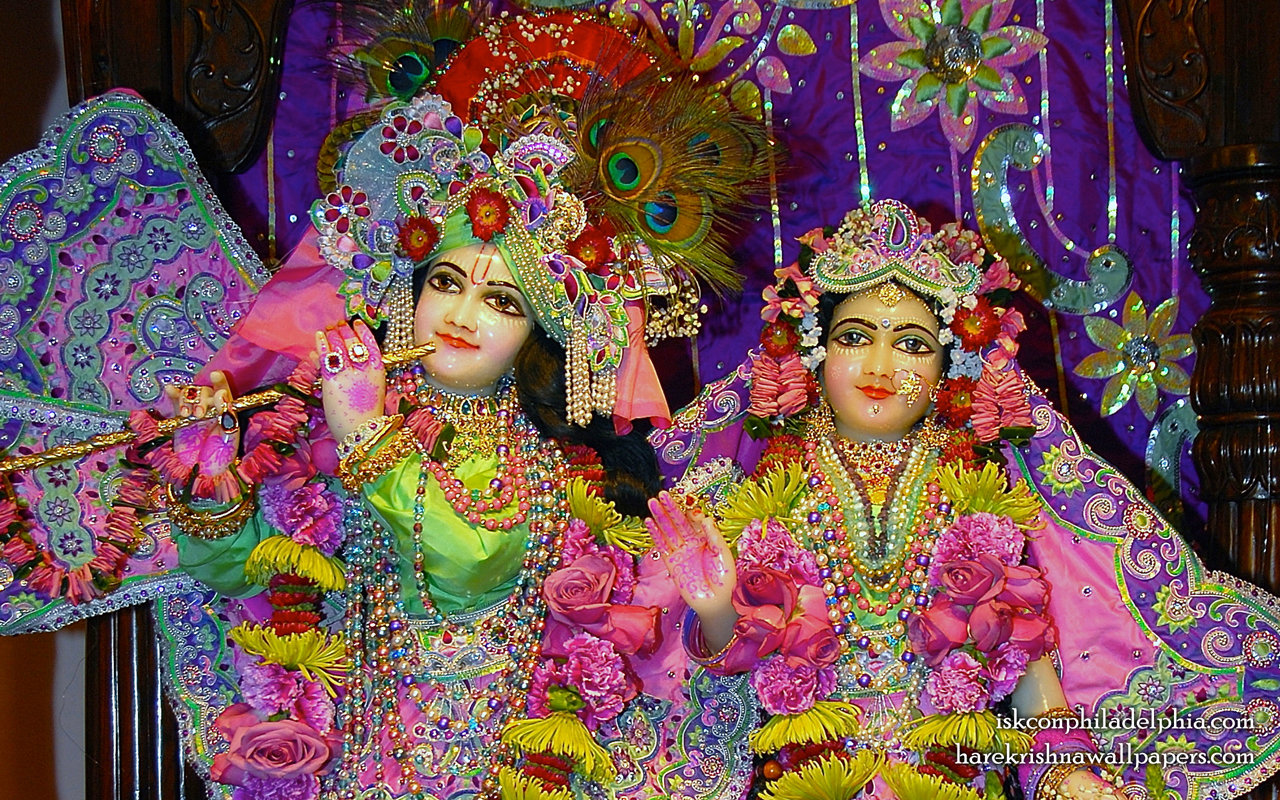 Sri Sri Radha Krishna Close up Wallpaper (011) Size 1280x800 Download