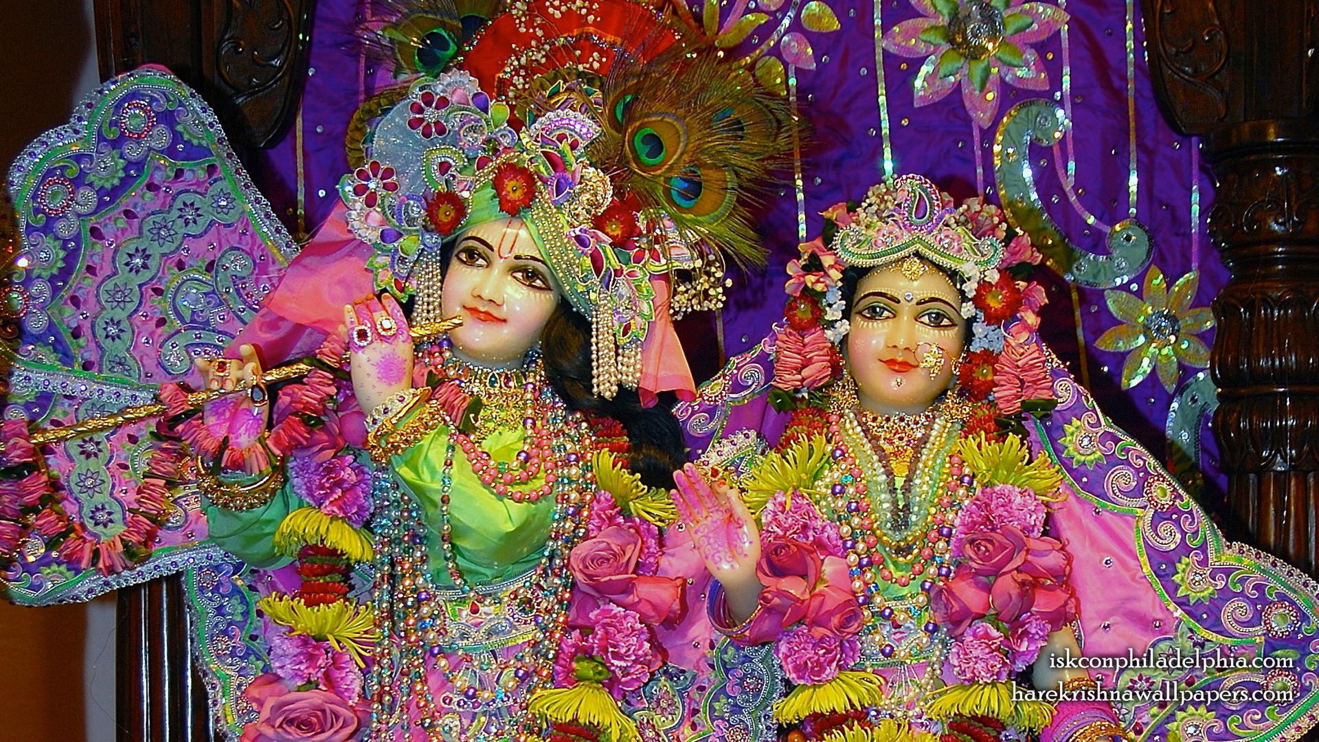 Sri Sri Radha Krishna Close up Wallpaper (011) Size 1920x1080 Download