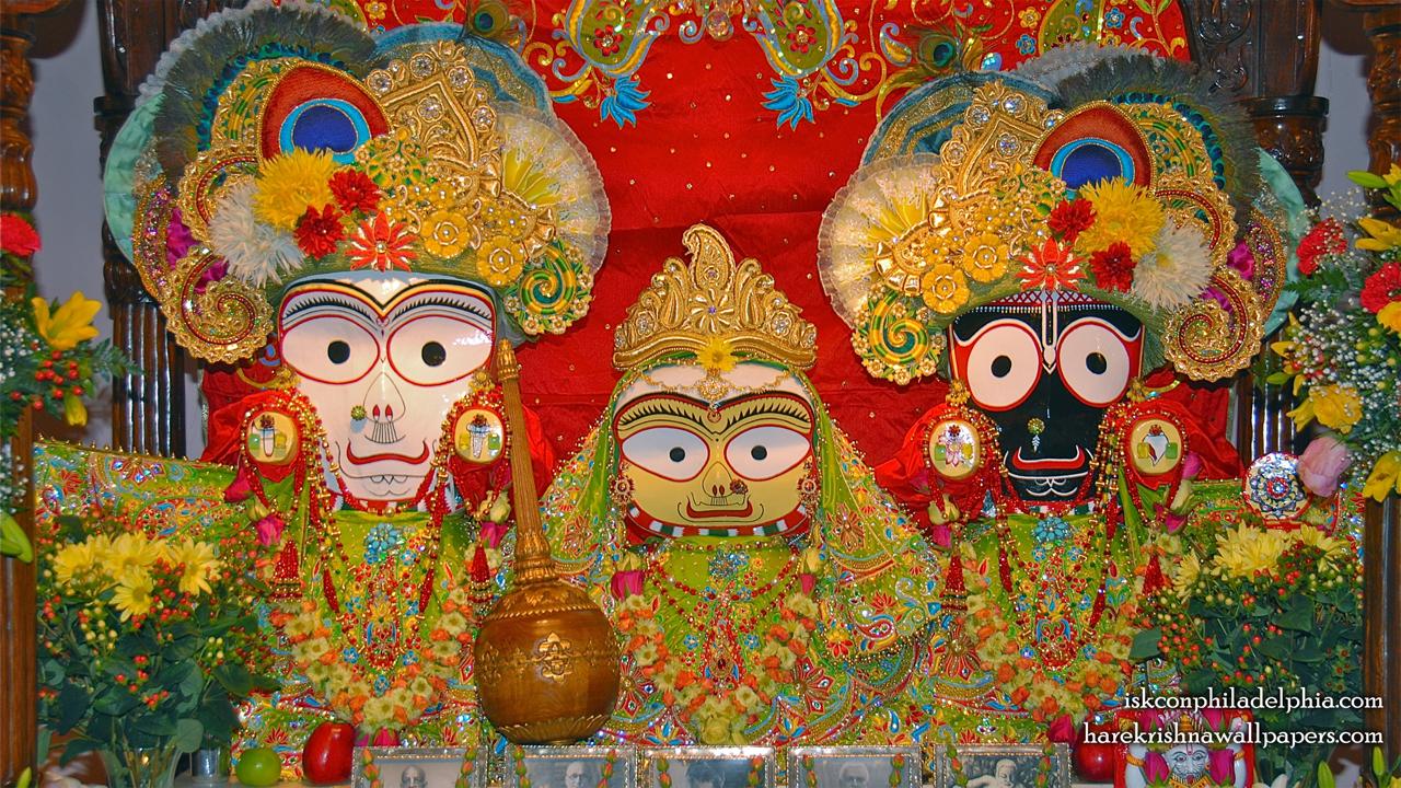 Jagannath Baladeva Subhadra Wallpaper (012) Size 1280x720 Download