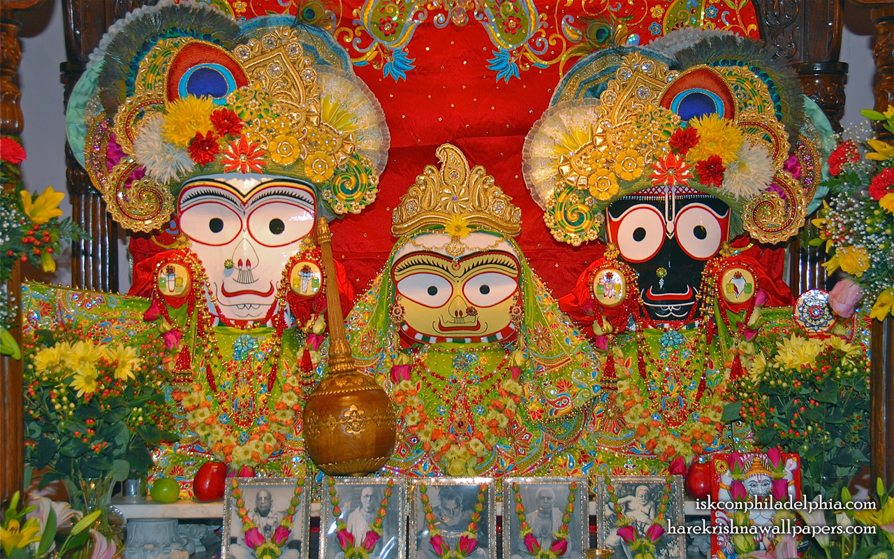 Jagannath Baladeva Subhadra Wallpaper (012) Size 1280x800 Download