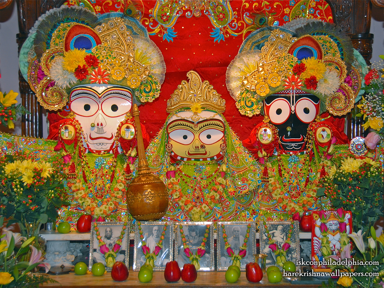 Jagannath Baladeva Subhadra Wallpaper (012) Size 1280x960 Download