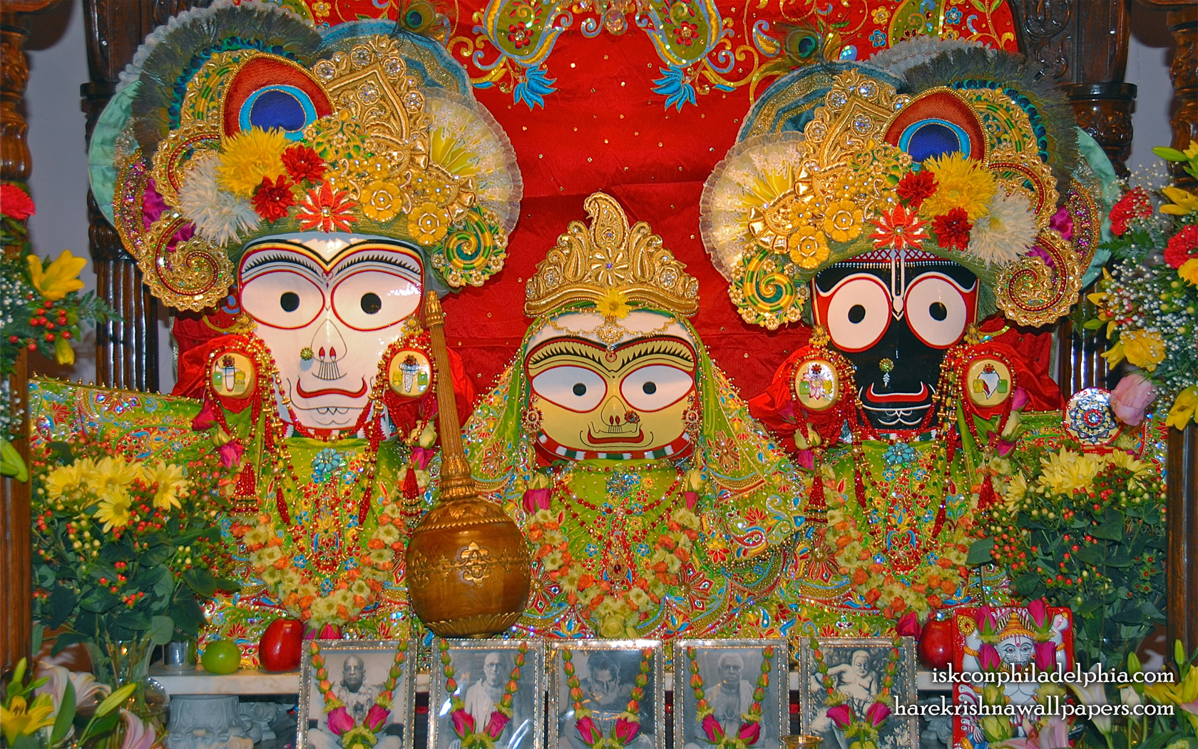 Jagannath Baladeva Subhadra Wallpaper (012) Size 1680x1050 Download