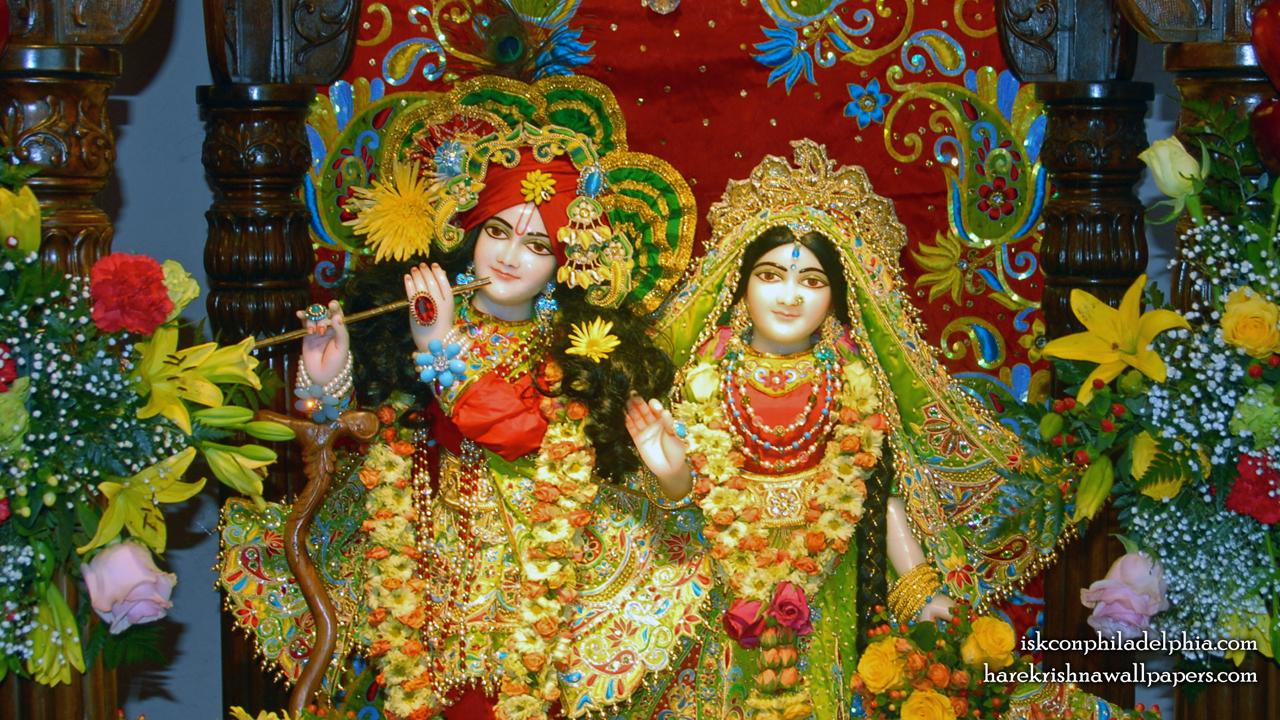 Sri Sri Radha Krishna Close up Wallpaper (014) Size 1280x720 Download