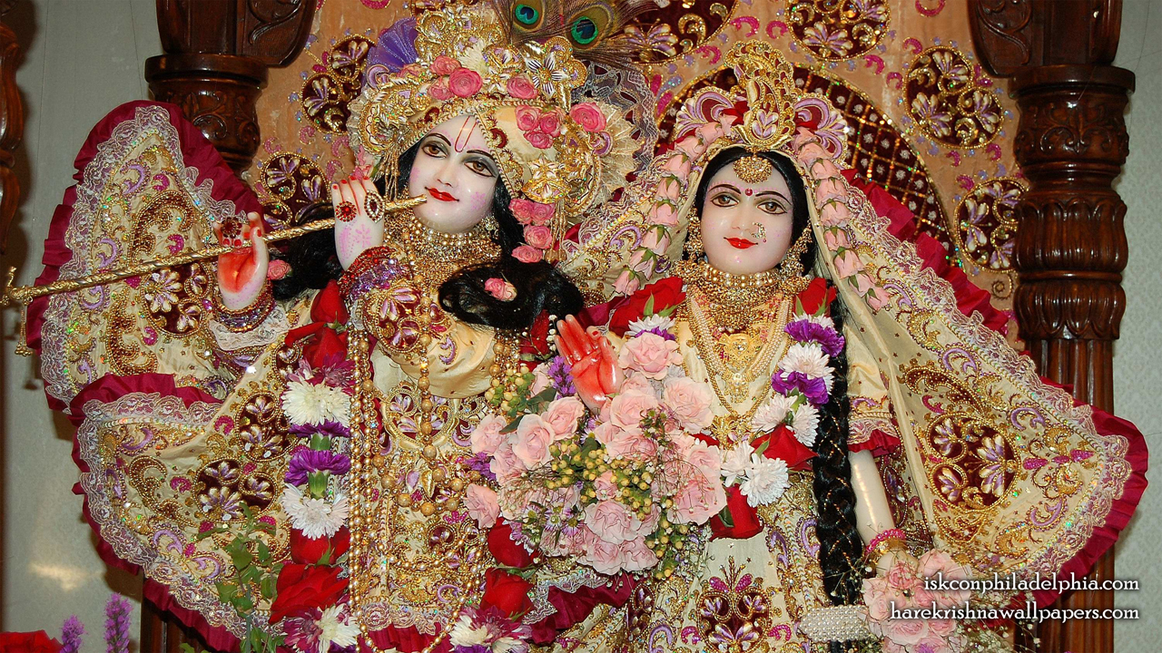 Sri Sri Radha Krishna Close up Wallpaper (015) Size 1280x720 Download