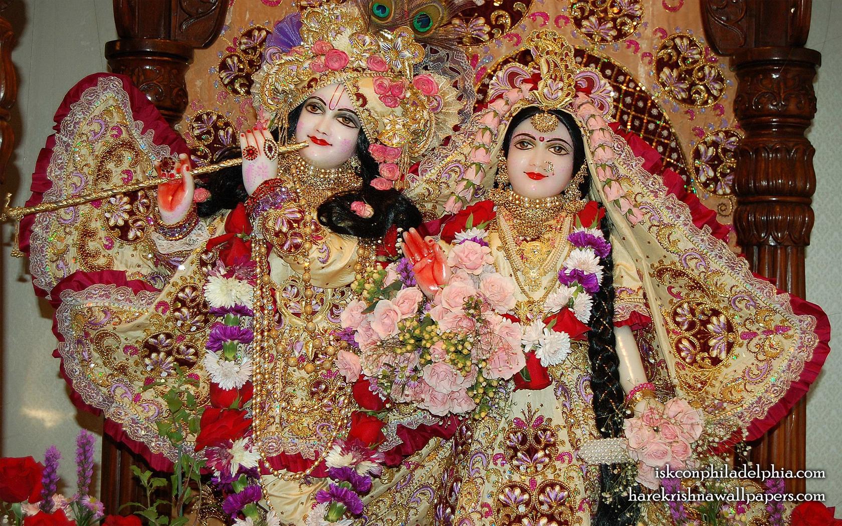 Sri Sri Radha Krishna Close up Wallpaper (015) Size 1680x1050 Download