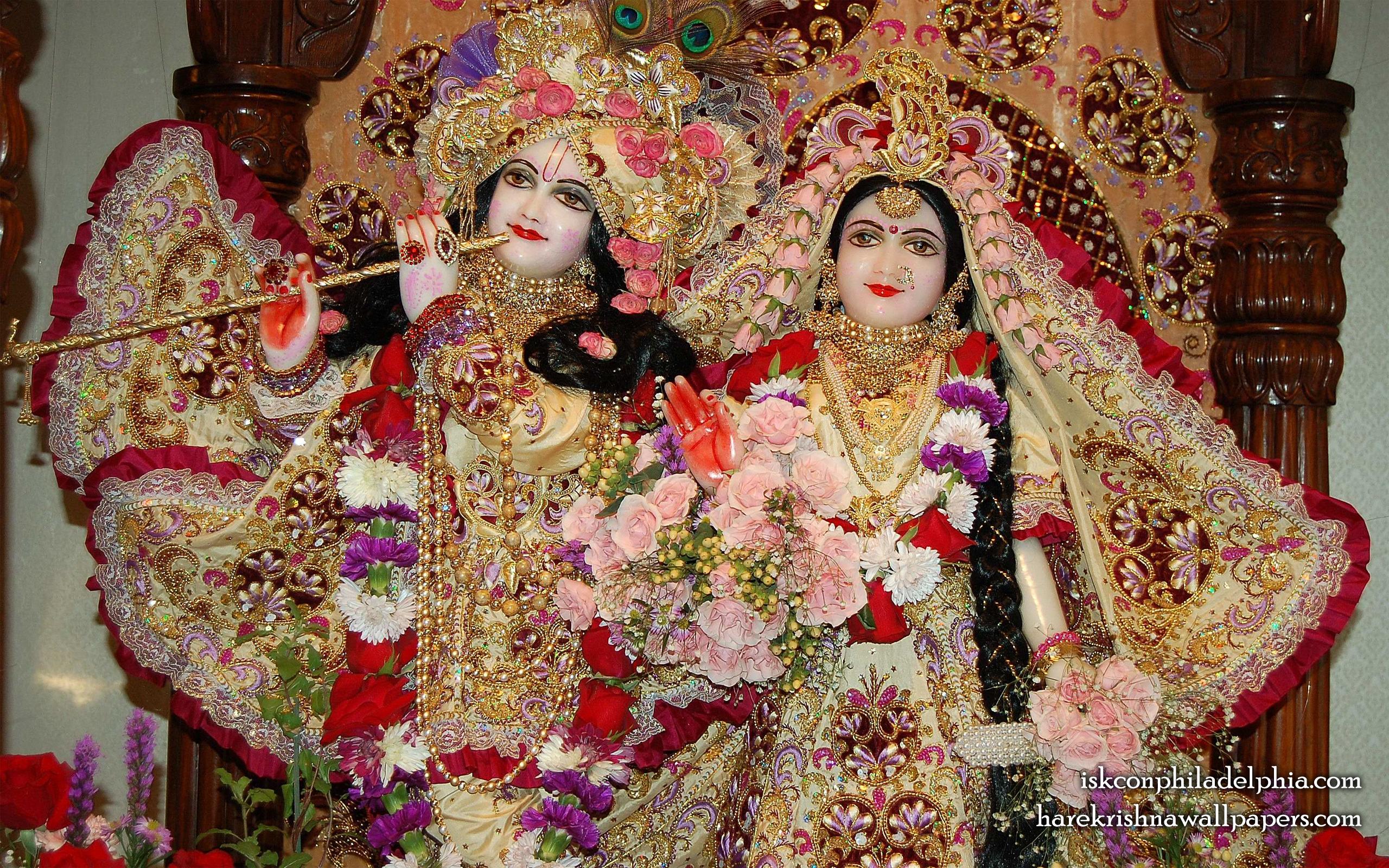 Sri Sri Radha Krishna Close up Wallpaper (015) Size 2560x1600 Download