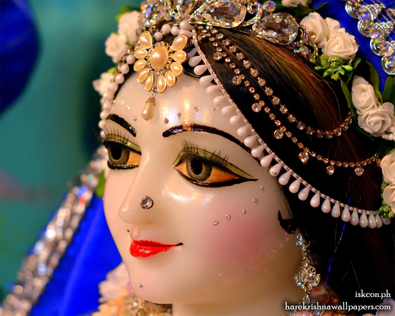 Sri Radha Close up Wallpaper (001) Size 1280x1024 Download