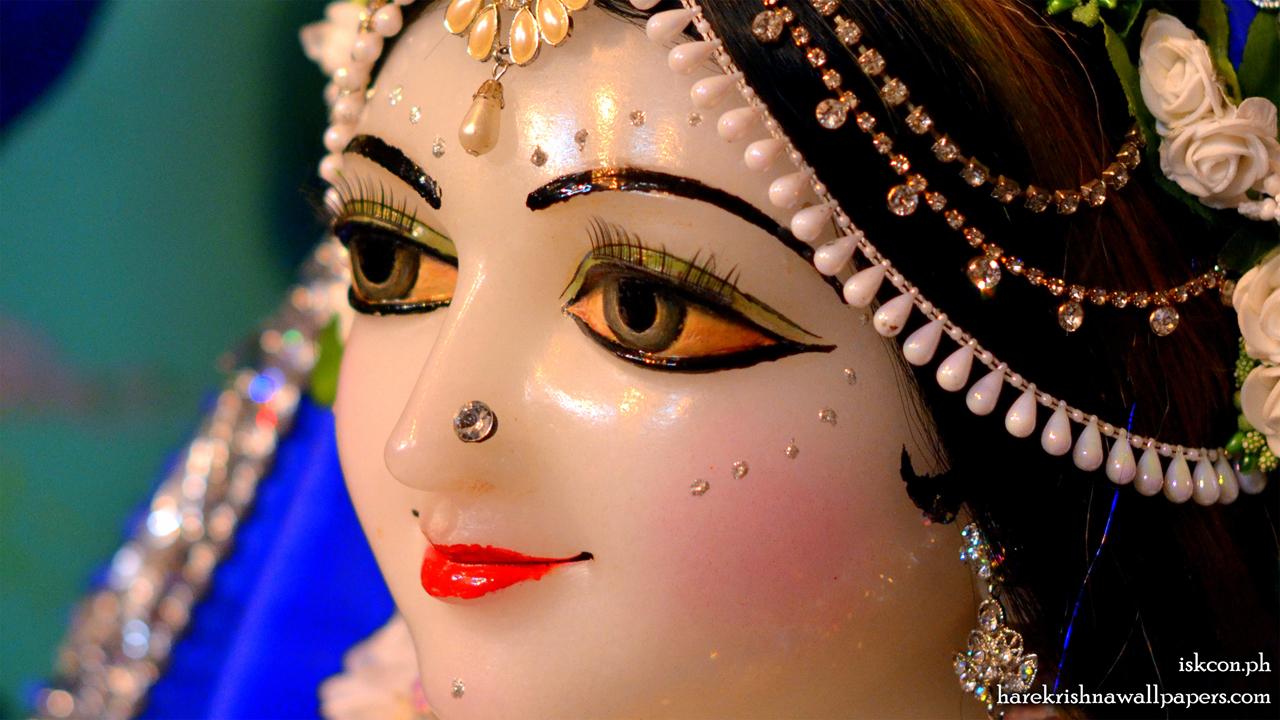 Sri Radha Close up Wallpaper (001) Size 1280x720 Download
