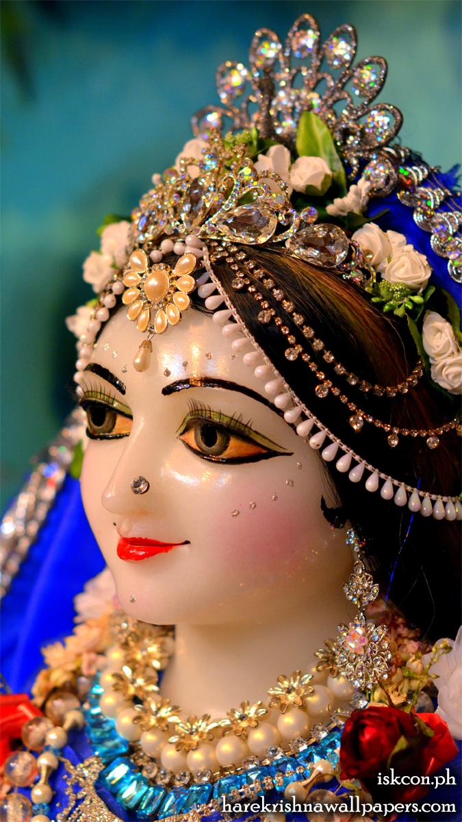 Sri Radha Close up Wallpaper (001) Size 675x1200 Download