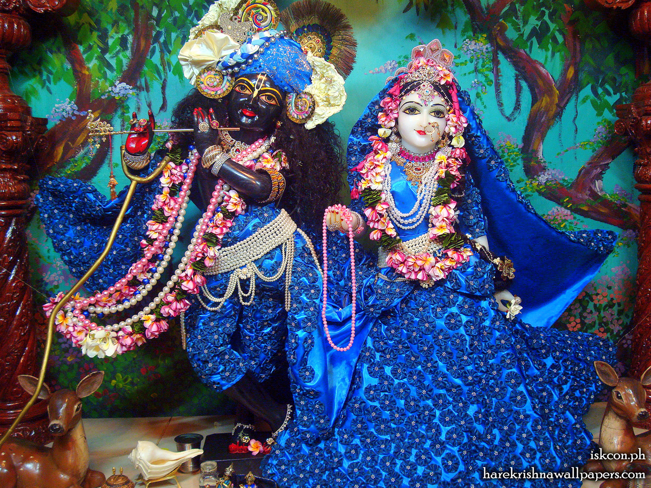 Sri Sri Radha Madhava Wallpaper (007) Size 1280x960 Download