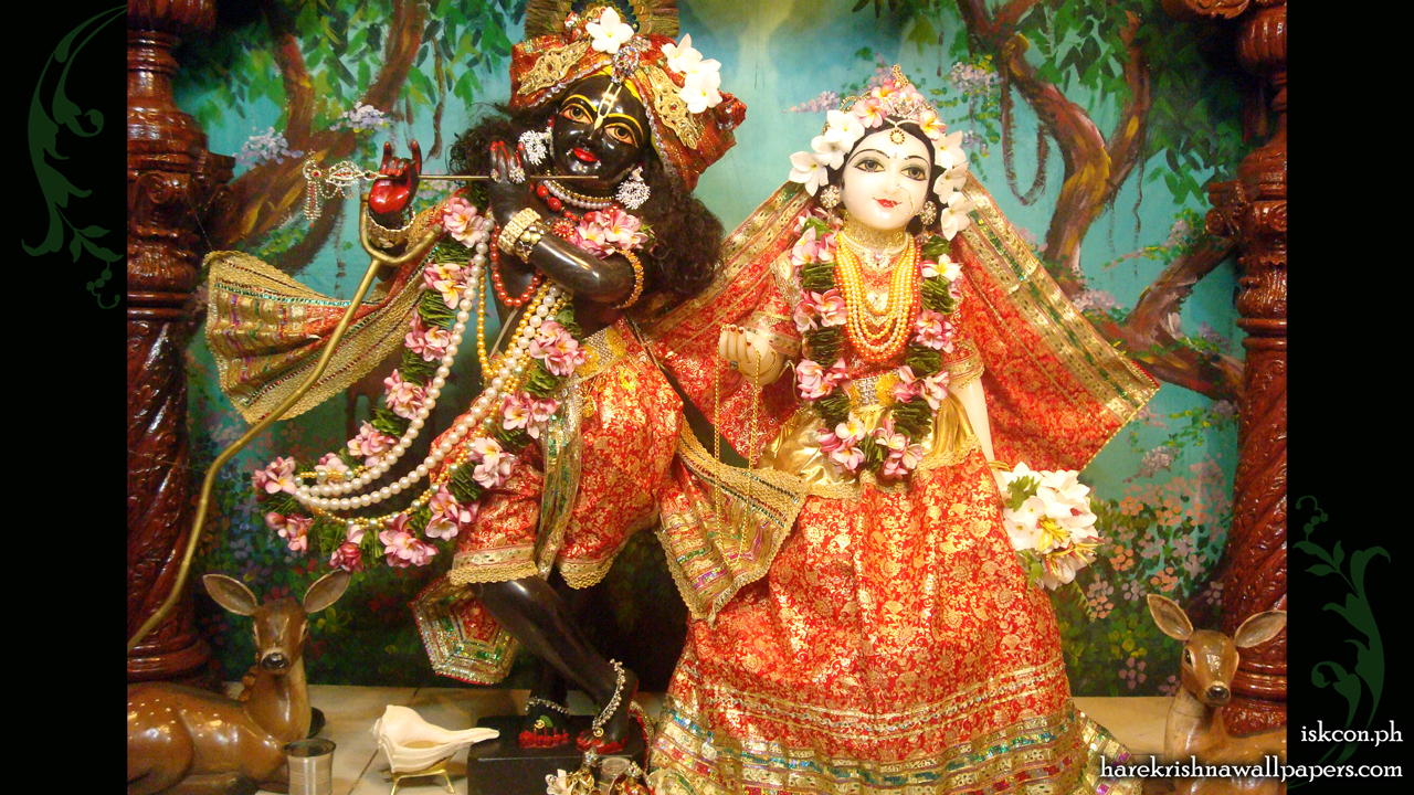 Sri Sri Radha Madhava Wallpaper (012) Size 1280x720 Download