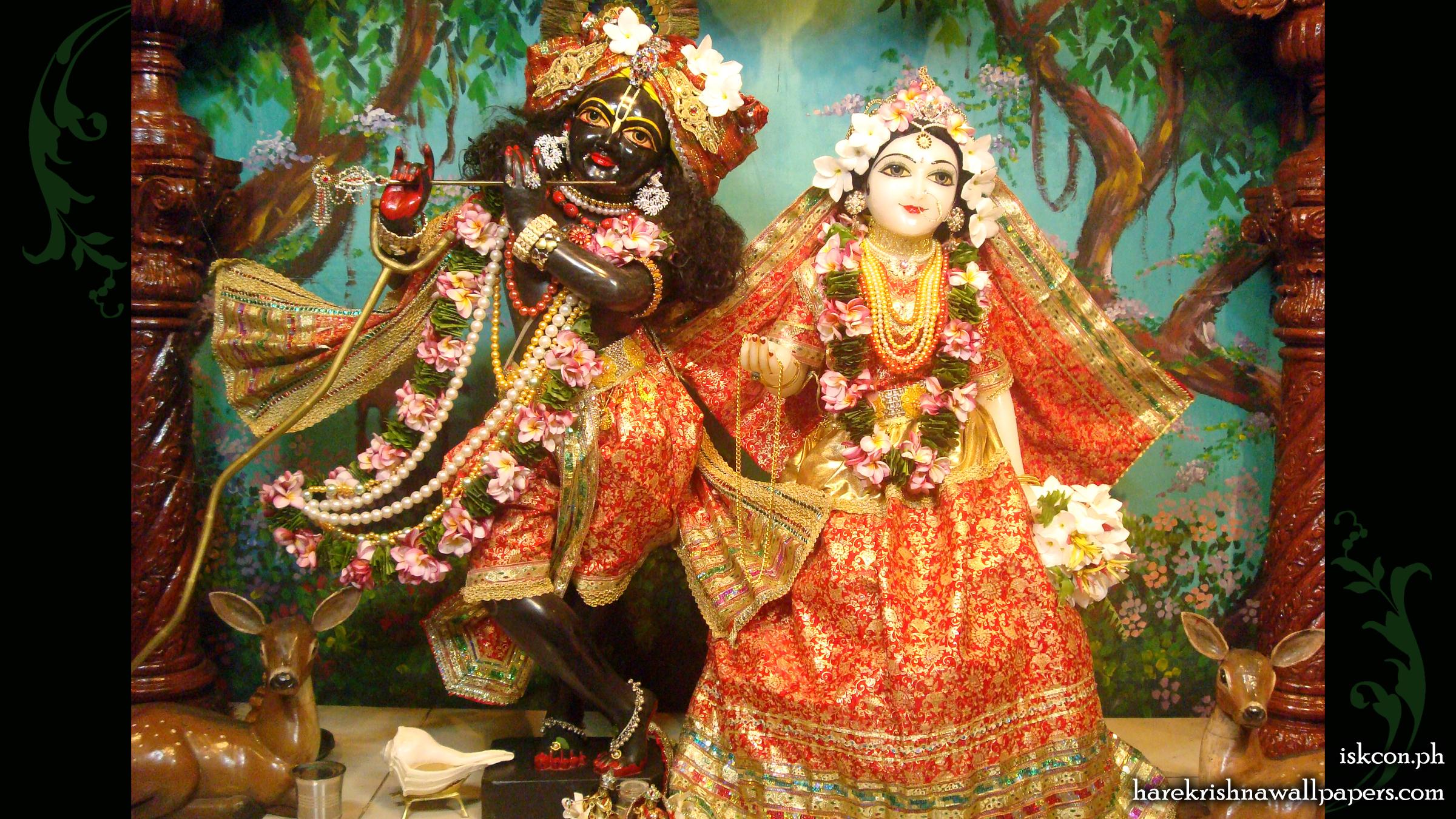 Sri Sri Radha Madhava Wallpaper (012) Size 2400x1350 Download