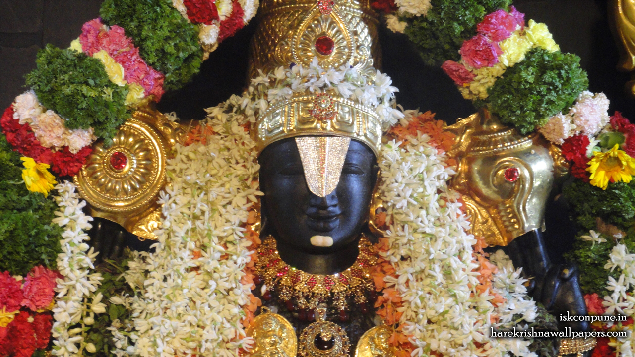 Sri Balaji Close up Wallpaper (001) Size 1280x720 Download