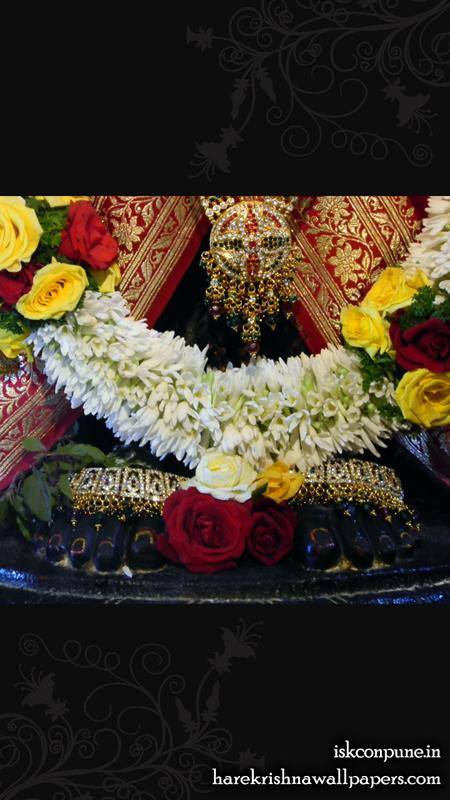 Sri Balaji Feet Wallpaper (001) Size 450x800 Download