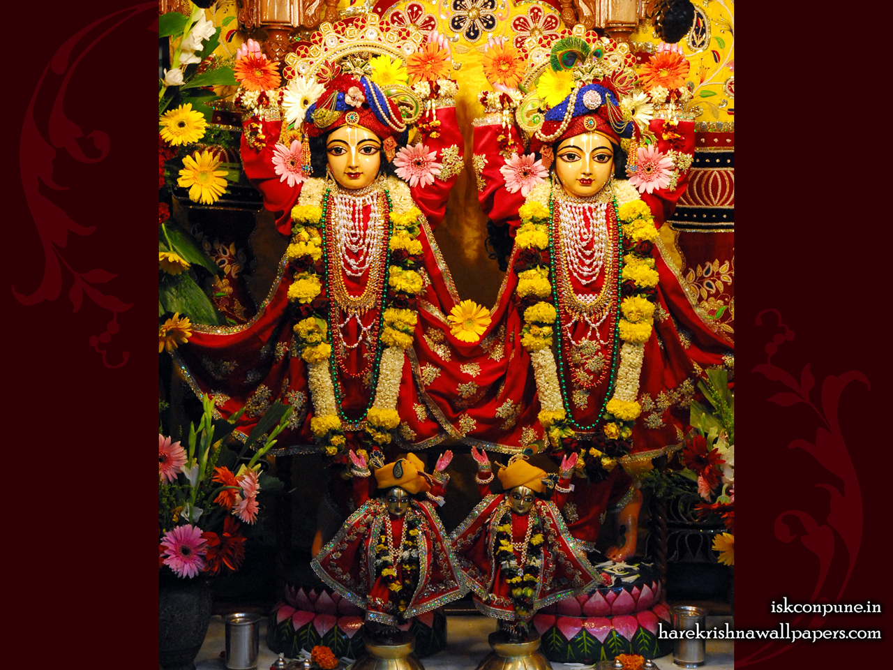 Sri Sri Gaura Nitai Wallpaper (001) Size 1280x960 Download