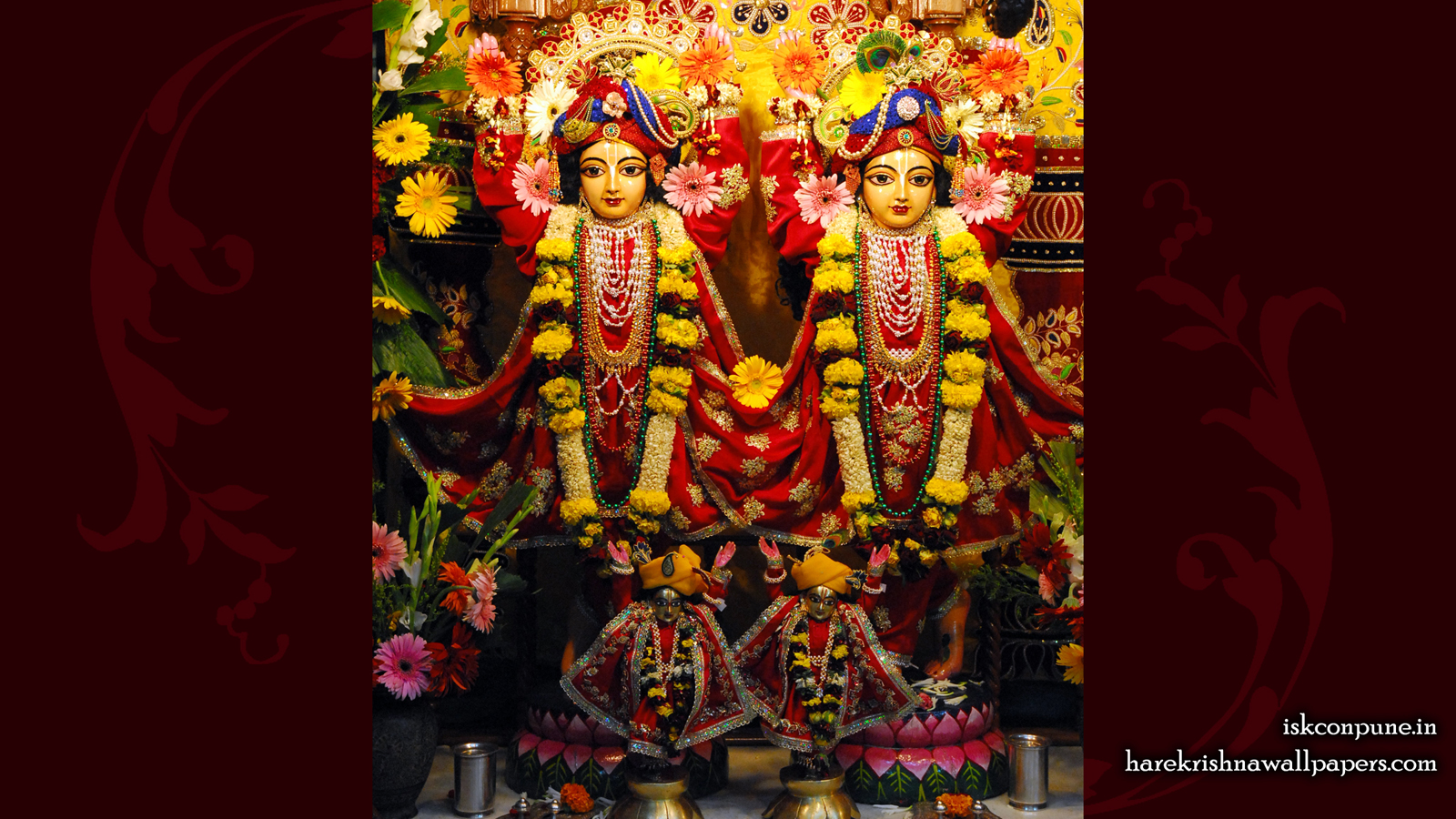 Sri Sri Gaura Nitai Wallpaper (001) Size 1600x900 Download