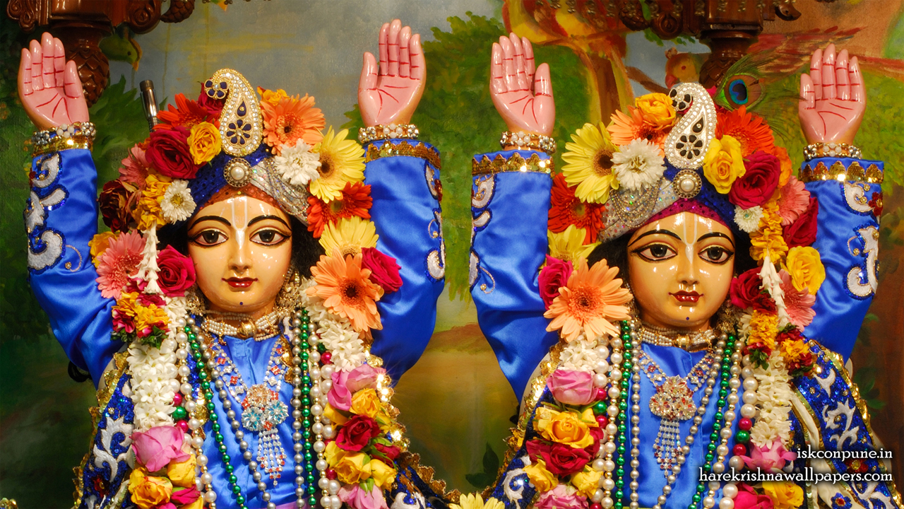 Sri Sri Gaura Nitai Close up Wallpaper (001) Size 1280x720 Download